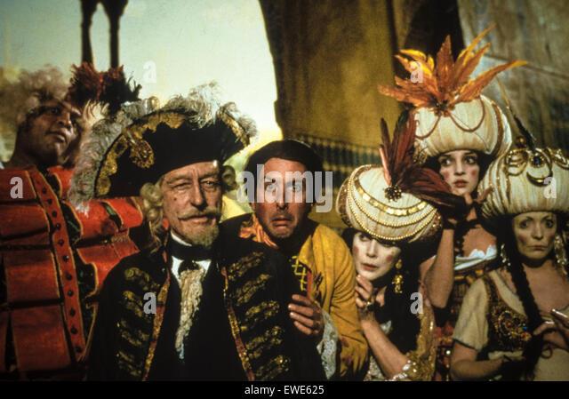 the adventures of baron munchausen - Stock Image