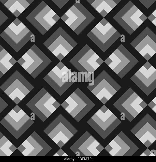 colorful geometric wallpaper - Stock Image