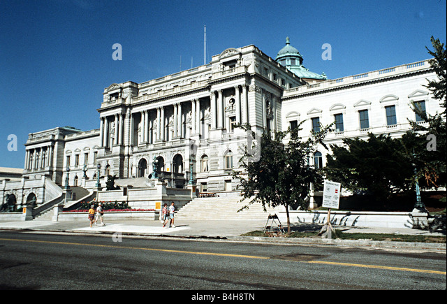 The Library of Congress in Washington D C - Stock-Bilder