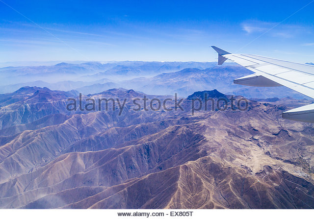 Peru, Cusco, Lima, View of landscape. - Stock Image
