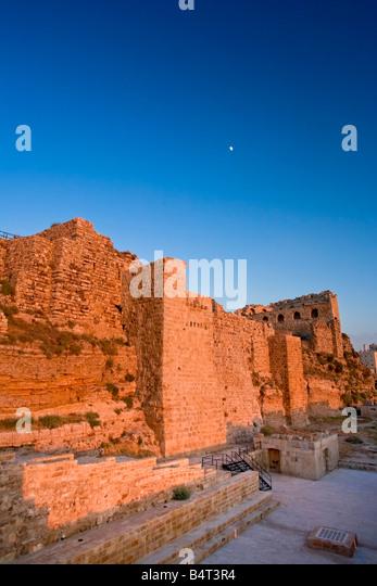 Karak Castle, Jordan - Stock Image