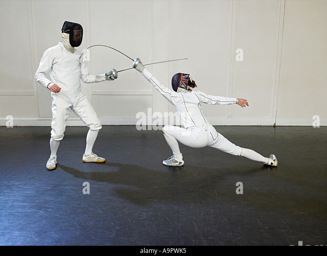 Fencing - Stock Image