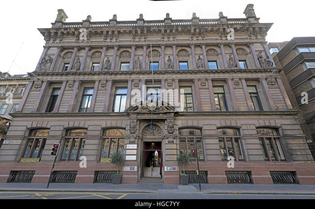 The Corrinthian Building, Club, Glasgow - Stock Image