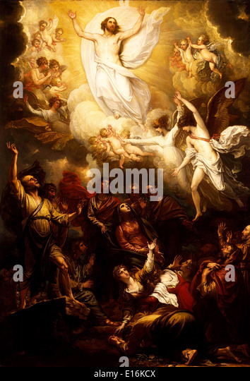 The Ascension by Benjamin West, 1801 - Stock Image