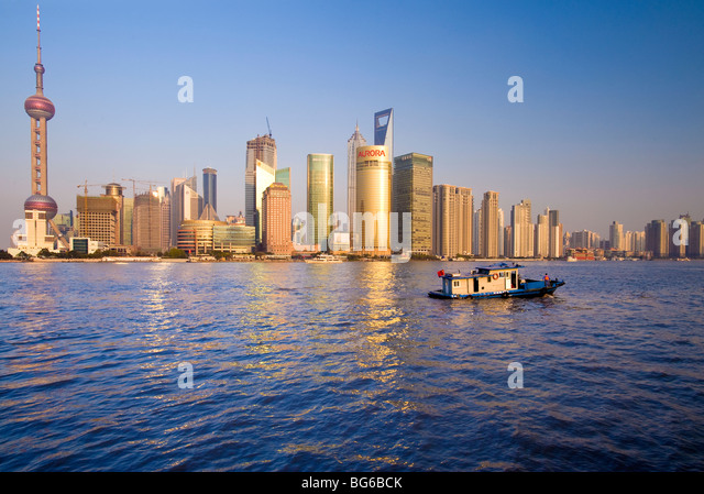 Pudong, Shanghai, China - Stock Image