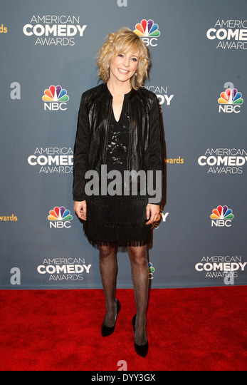 Comedian Maria Bamford attends the American Comedy Awards at the Hammerstein Ballroom on April 26, 2014 in New York - Stock Image