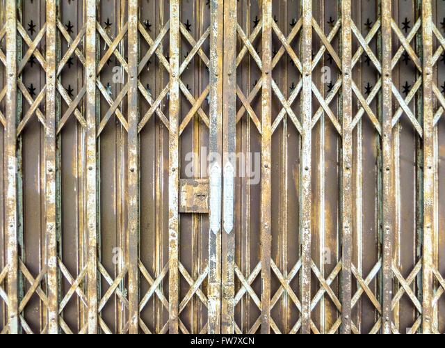 Rust rusted rusty red iron door stock photos