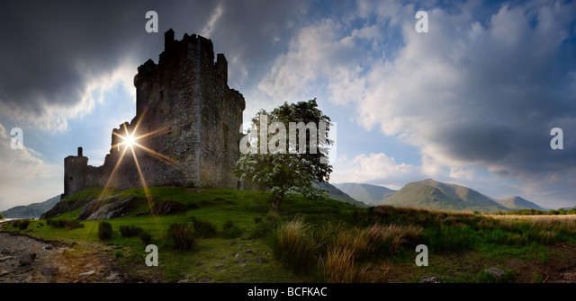 Kilchern Castle, Scotland, Great Britain - Stock-Bilder