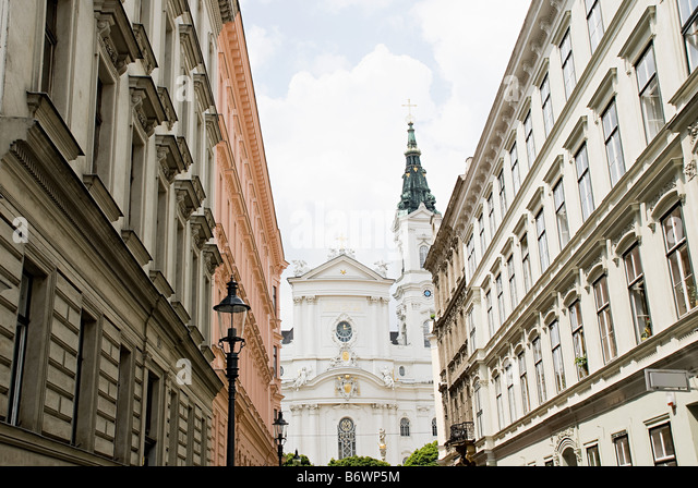 Buildings in vienna - Stock Image