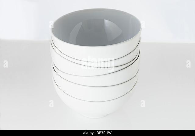 10 Round Ceramic Dog Bowls