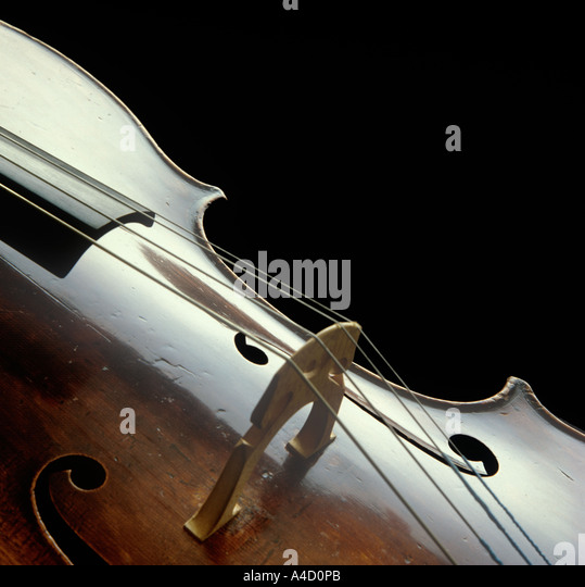 Cello close up 1 - Stock-Bilder