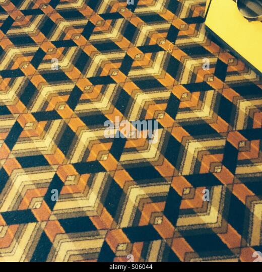 Bad carpet - Stock-Bilder