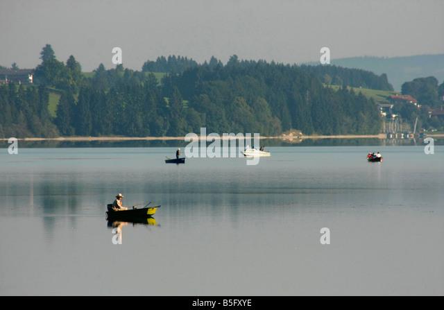 Lake forggensee stock photos lake forggensee stock for Nearest fishing lake