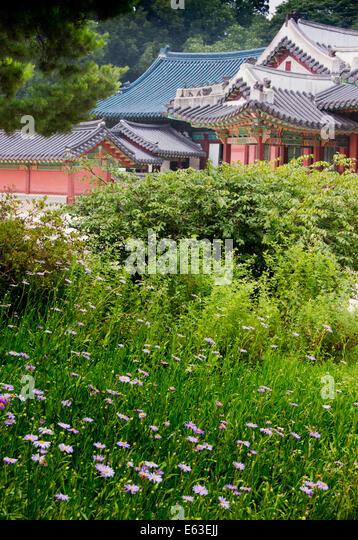 Changdeokgung Palace - Stock Image