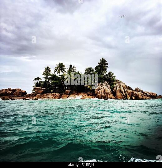 Tropical island - Stock Image
