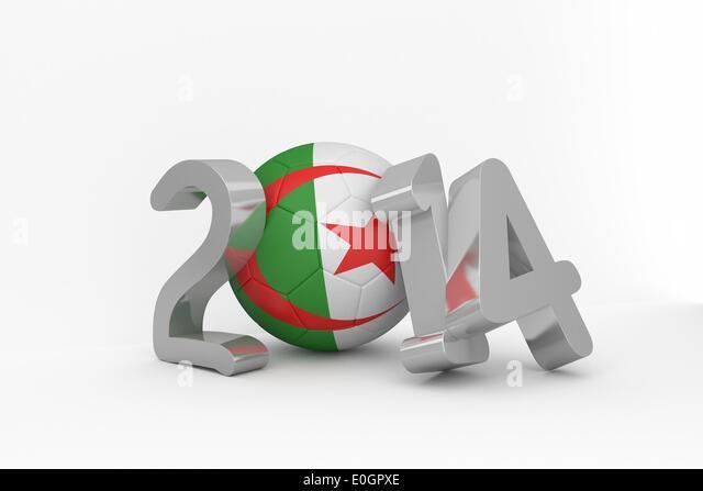 Algeria world cup 2014 - Stock Image