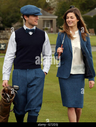 Ryder Cup Harris Tweed collection - Stock Image