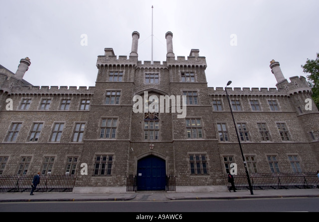 Honourable artillery company headquarters Armoury house Central London - Stock Image