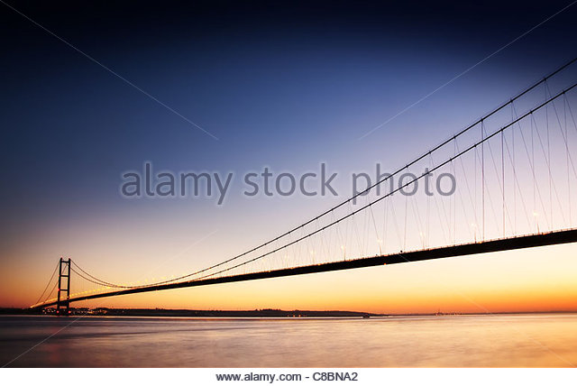 Humber bridge - Stock-Bilder