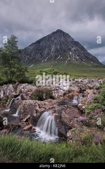Buachaille Etive Mor in Glencoe, Scotland, UK - Stock Image