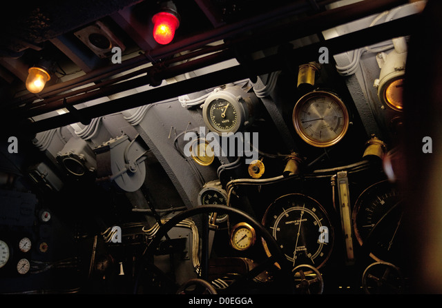 Picture presenting an old machinery - Stock Image
