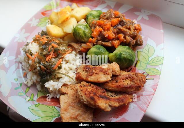 Shashlick, juicy, pork, lettuce, food, food, feed, dinner, meat, kebab ...