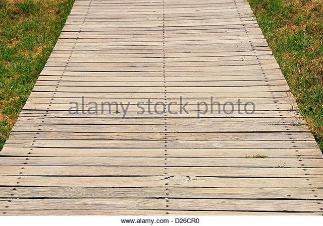 Wood Plank Walkway : Plank wood pathway stock photos