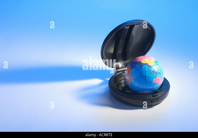 Goble in Compact Case - Stock Image