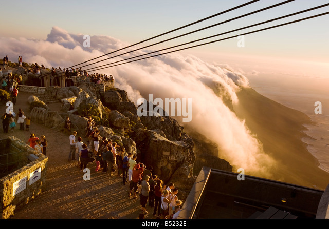 Table Mountain, Cape Town - Stock Image