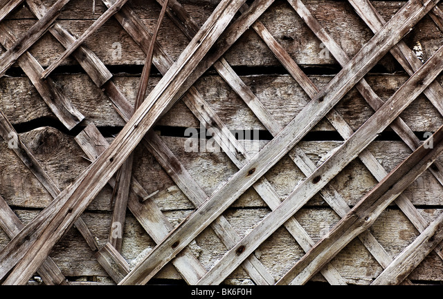 Old wooden wall close-up texture. - Stock Image