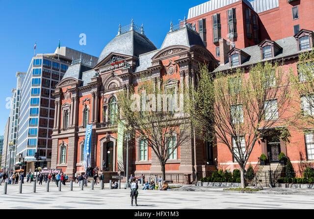 Renwick Gallery, Washington, D.C. - Stock Image