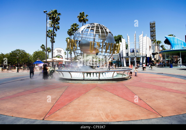 Universal Studios, Hollywood, Los Angeles, California, USA, North America - Stock Image