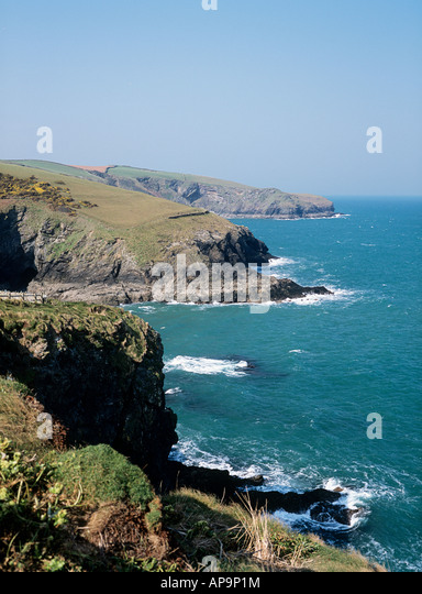Cornish coast - Stock Image
