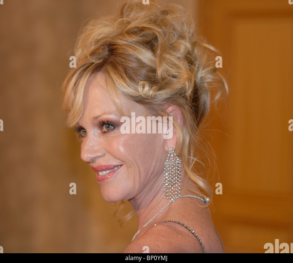 Melanie Griffith American actress married to Spanish actor Antonio Banderas - Stock-Bilder