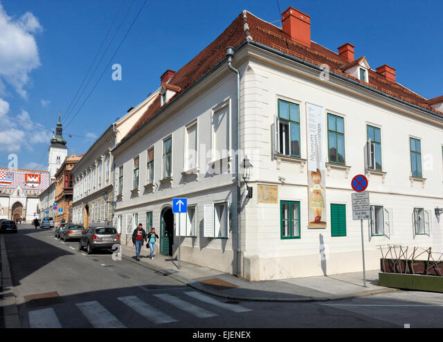 Zagreb, Museum of broken Relationships, Croatia - Stock Image
