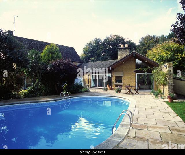 Swimming Pool House Uk Stock Photos Swimming Pool House Uk Stock Images Alamy