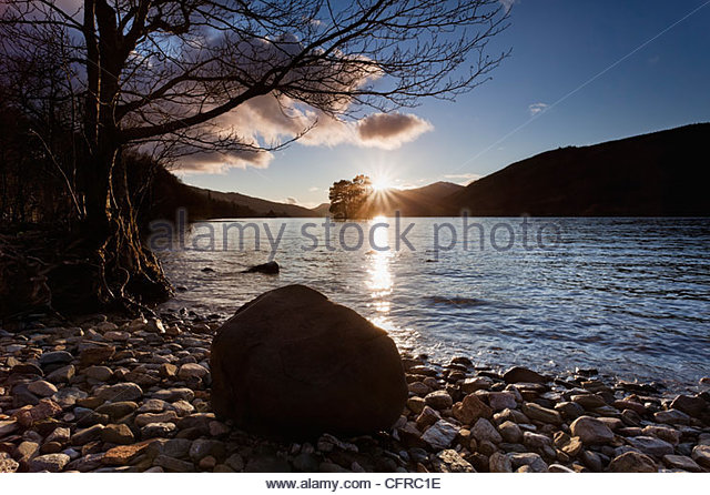 Loch Tay, Perth and Kinross, Scotland, UK - Stock-Bilder