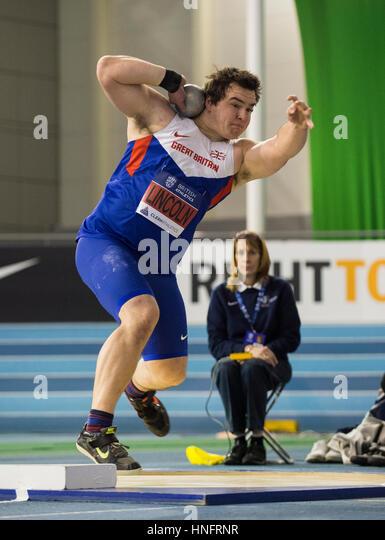Robbie Grabarz, High Jump, British Athletics Indoor Team Trials 2017 - Stock Image
