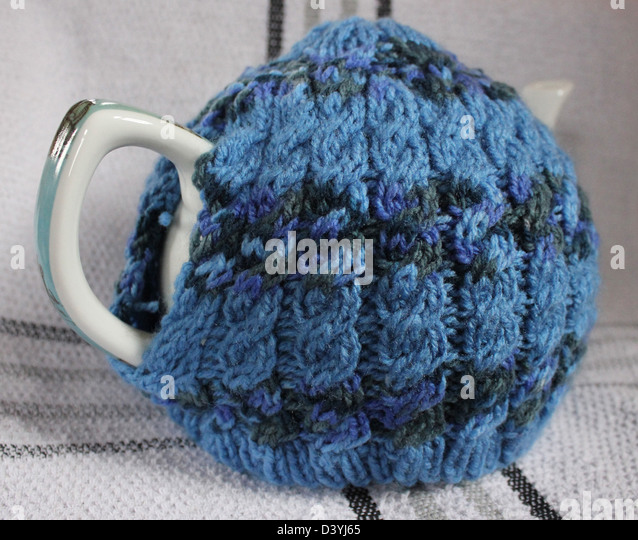 Hand Knitted Tea Cosy Patterns : Maye Stock Photos & Maye Stock Images - Alamy