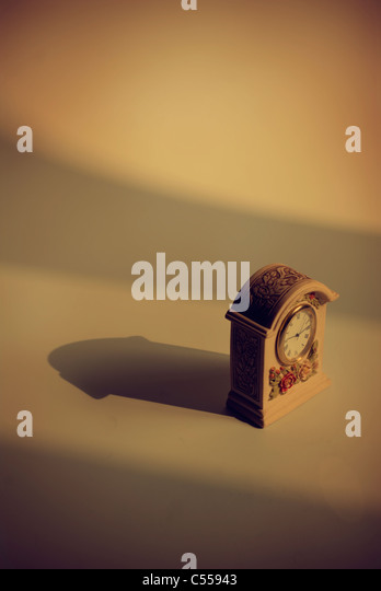 Old fashioned clock - Stock Image
