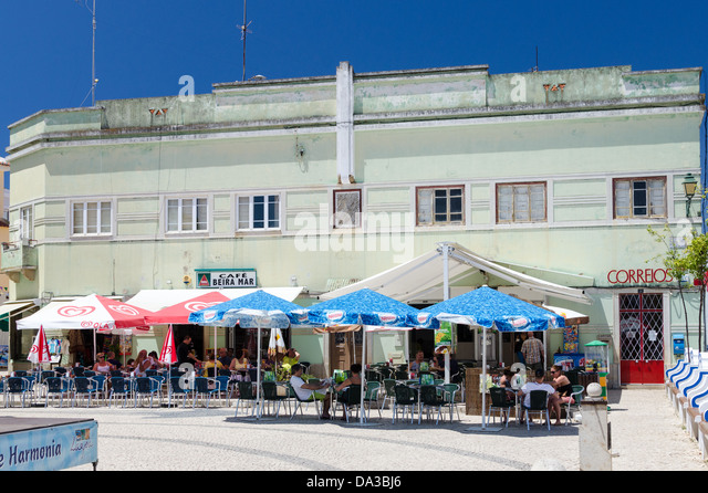 Retired Village Houses With Beach View At Algarve Portugal