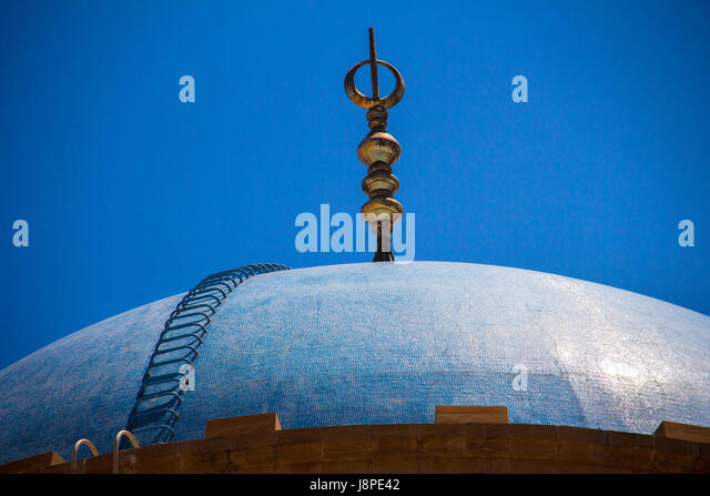 Mohammad Al Amin Mosque, Marfaa, Beirut - Stock Image