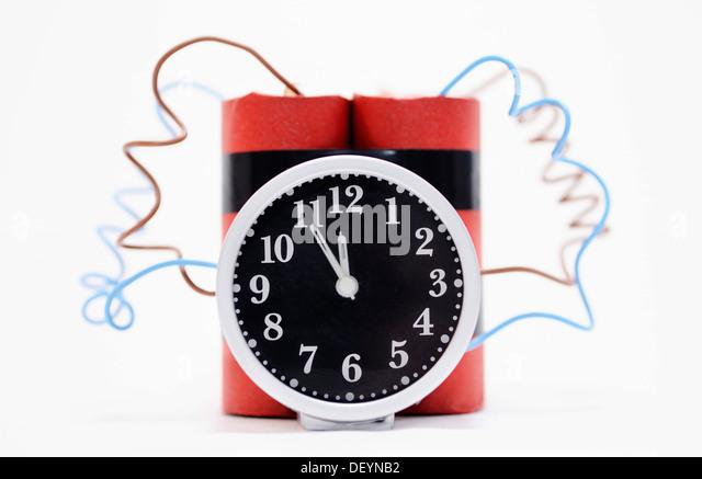 Time bomb, symbolic image - Stock Image