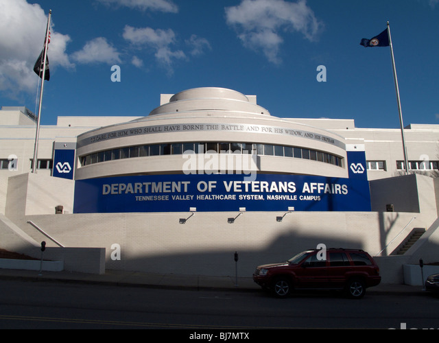 Department of Veterans Affairs Hospital. Nashville, Tennessee. - Stock Image
