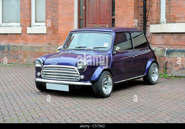 British Motor Corporation (BMC) Original Mini Car - Stock Image