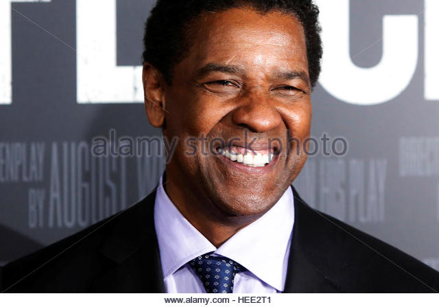 Actor Denzel Washington attends the premiere of 'FENCES' in Manhattan, New York City, U.S., December 19, - Stock-Bilder