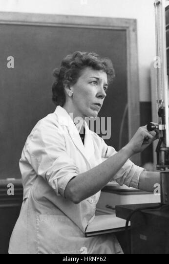 Mary Alice McWhinnie, American Biologist - Stock Image
