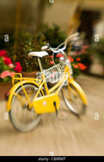 Bicycle in Italy. - Stock Image
