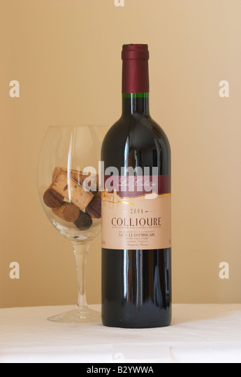 collioure, les culottes, SCV le dominicain. Roussillon, France - Stock Image
