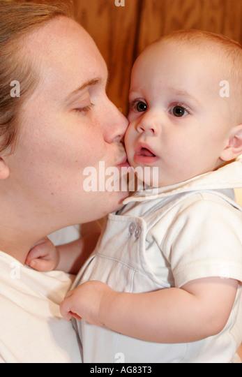 Alabama Stapleton mother baby - Stock Image